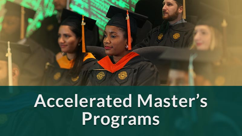 Accelerated masters' programs